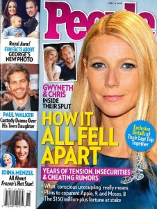Gwyneth Paltrow People Magazine Cover