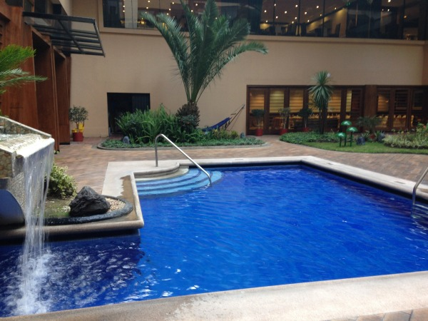 swiss hotel pool Quito Ecuador