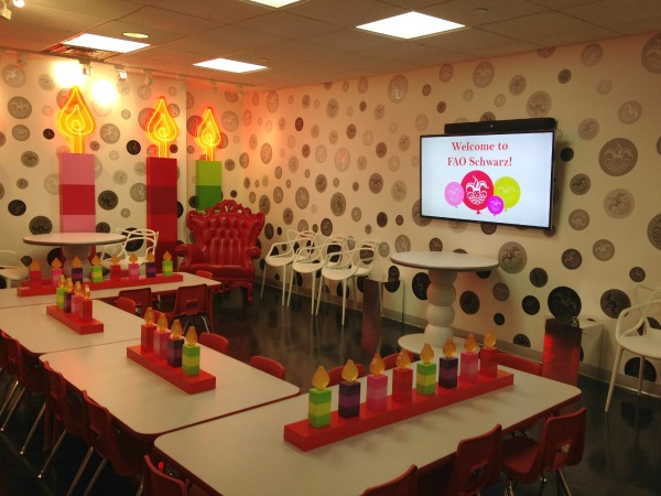 children's party room