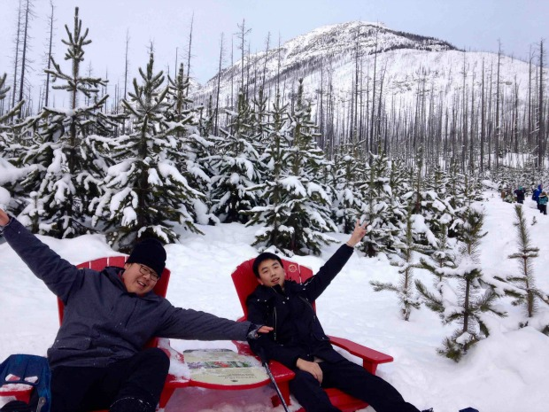 Parks Canada Share the Chair