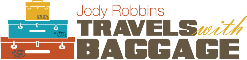 Jody Robbins | Travels with Baggage Mobile Retina Logo