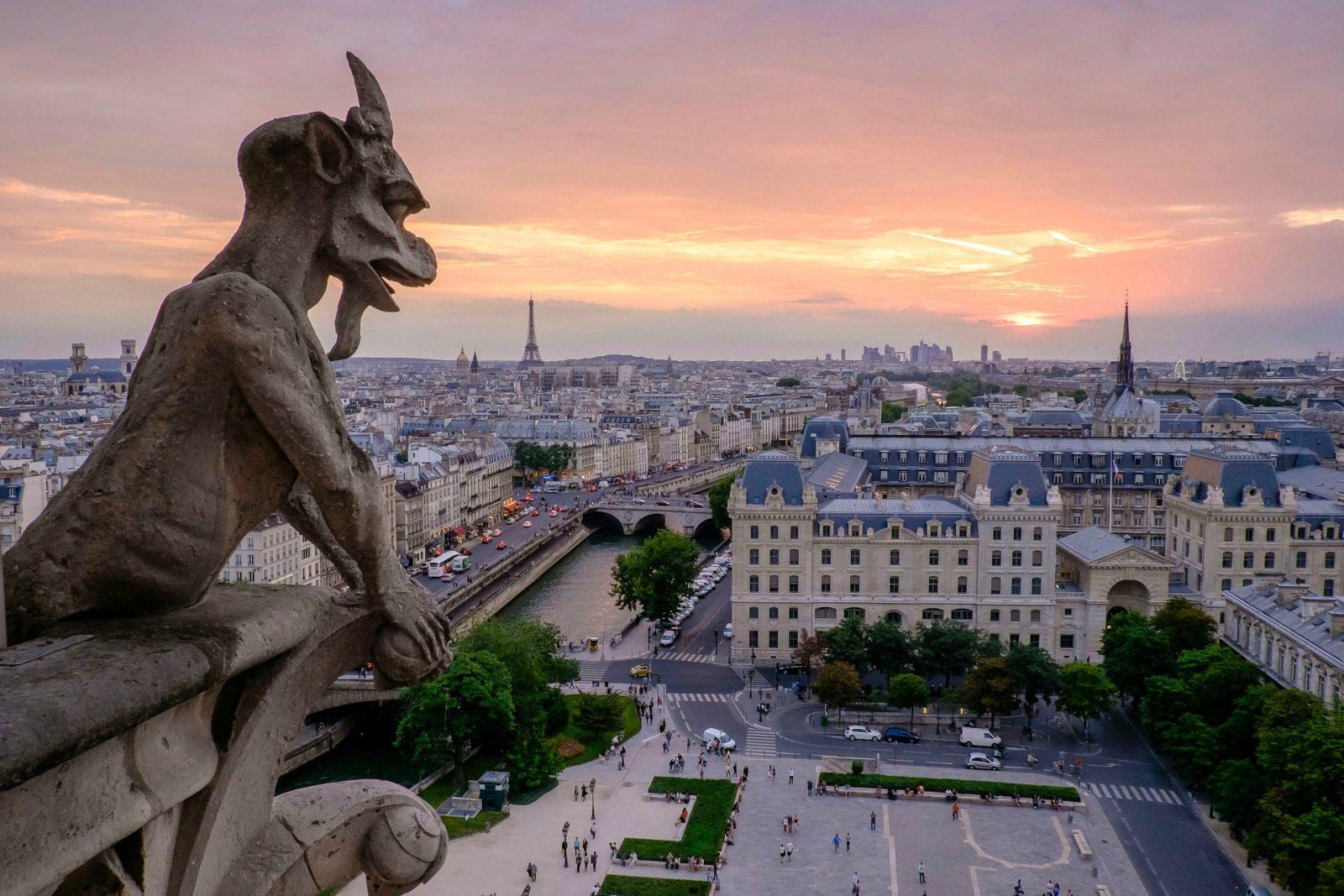 city view of paris