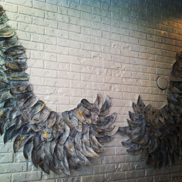 Angel Wings wall display