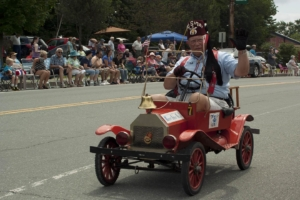 Shriner in parade