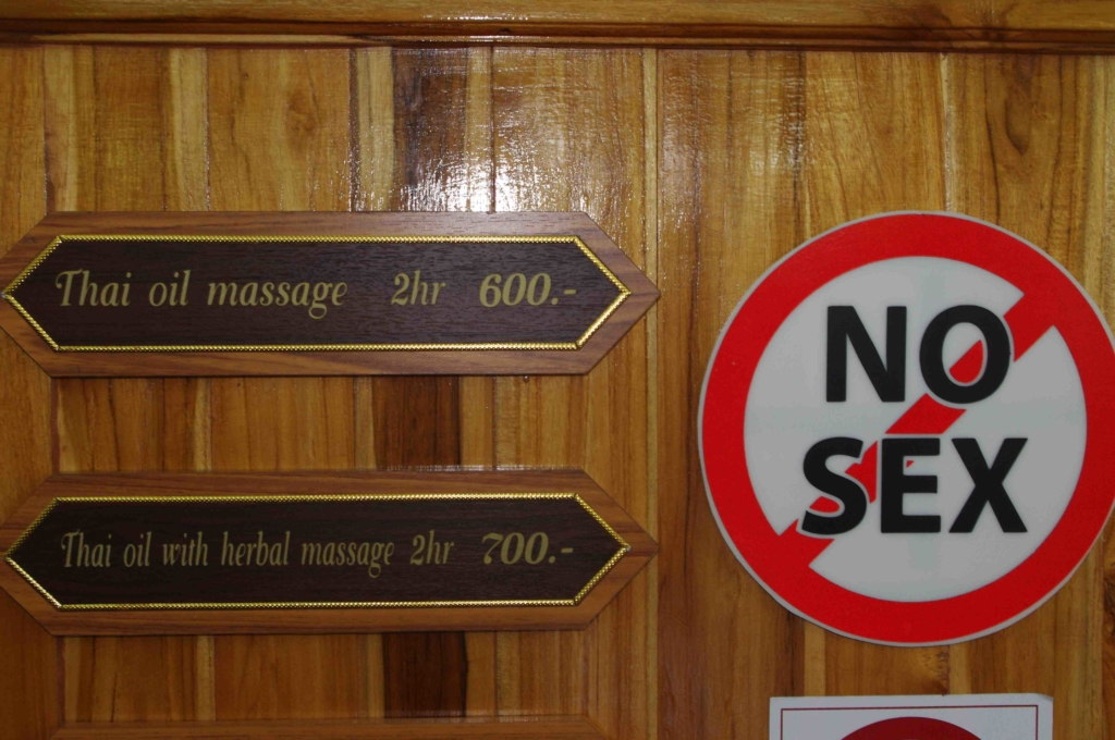 No Sex Sign