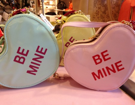 Candy heart purse
