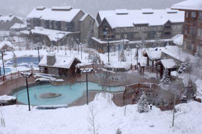 Hot Springs Pool at Ski Resort
