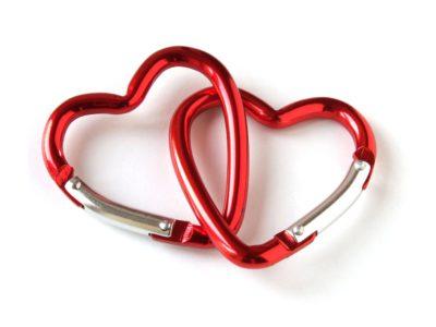 Carabiner hearts
