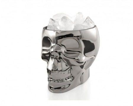 chrome skull bucket