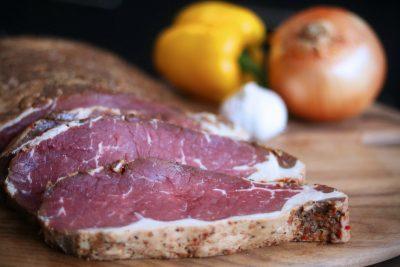 cold smoked steak