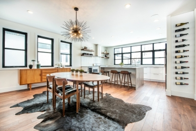 organic modern kitchen