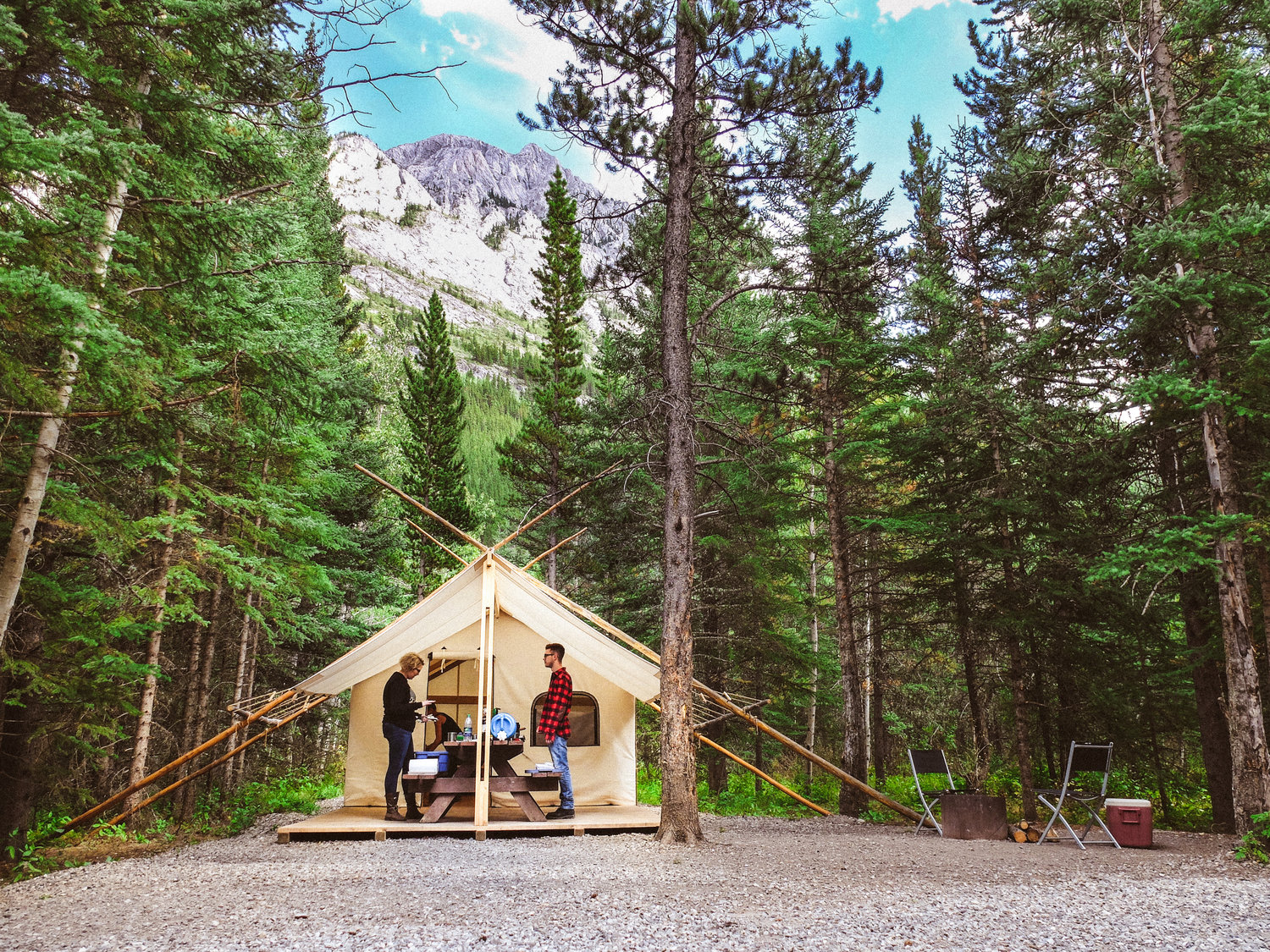 8 Best sites near Canmore for camping with a tent or RV