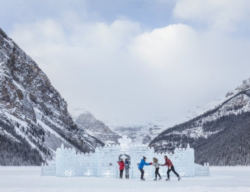 Why you need get on Lake Louise ice skating right now!